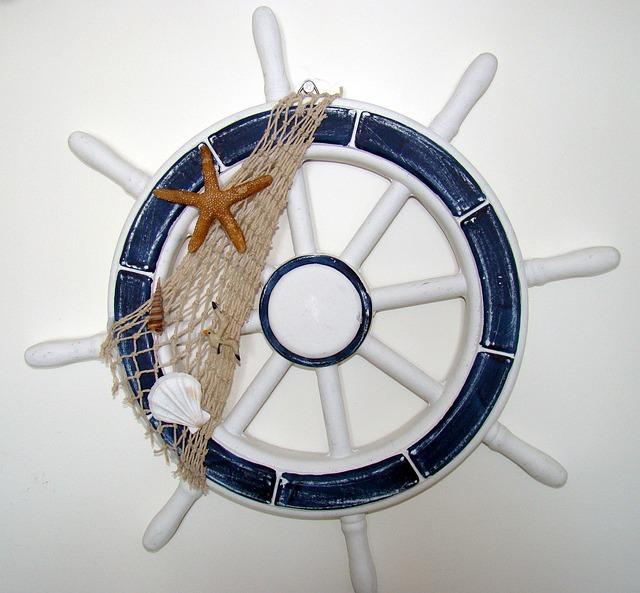 Wheel, Ster, Sea, Naval Science, Makammos