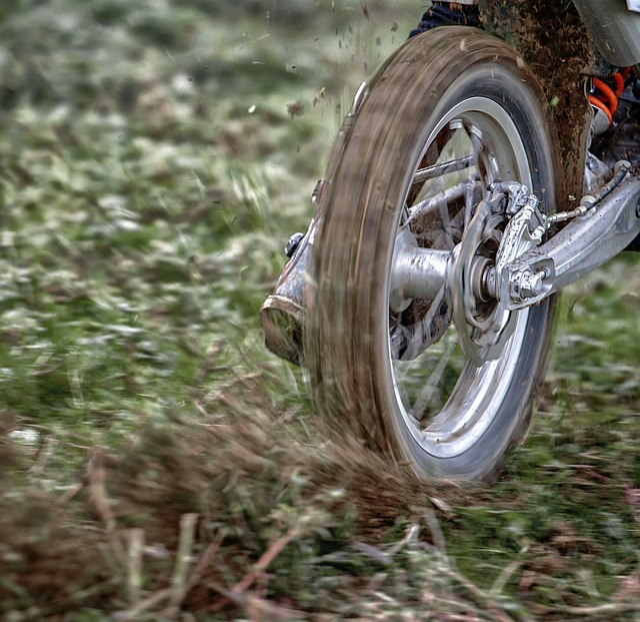 Wheel, Moto, Motocross, Rear, Mud, Race, Sideslip