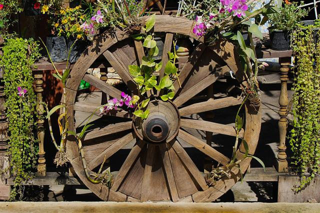 Wheel, Wagon Wheel, Old, Wood, Wooden, Transportation