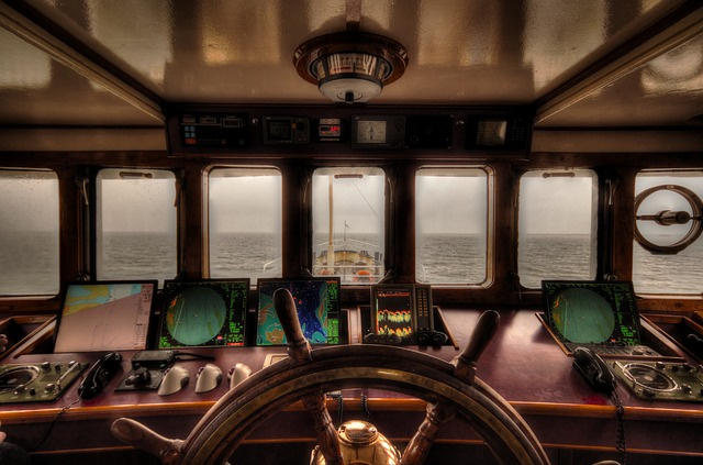 Boat, Steering, Wheelhouse, Nautical, Ship, Wheel