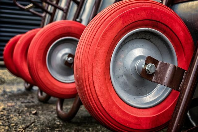 Wheelbarrow, Cart, Wheel, Red, About, Faceplate
