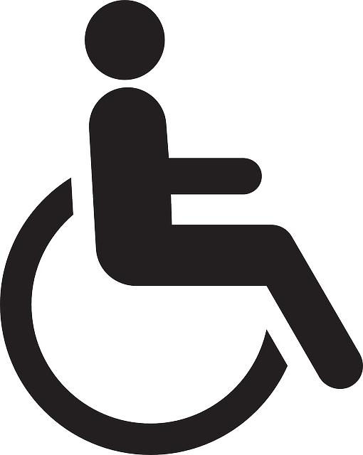 Handicapped, Chair, Wheelchair, Wheel, Disabled, Logo
