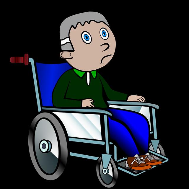 Wheelchair, Ill, Old, Grandpa, Lame, Hospital