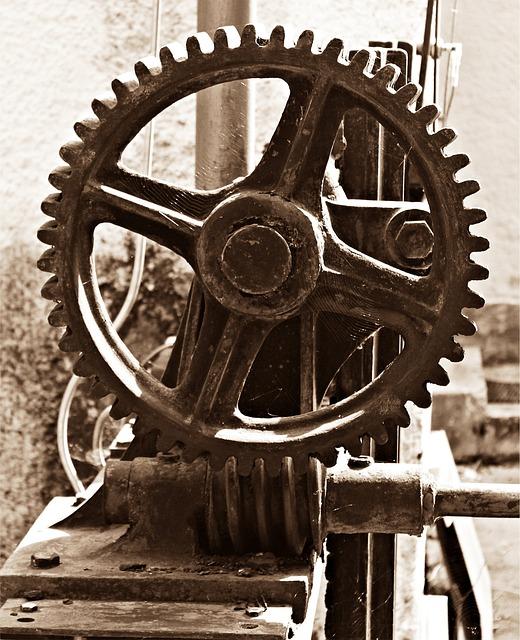 Gear, Mechanics, Wheels, Transmission, Gears