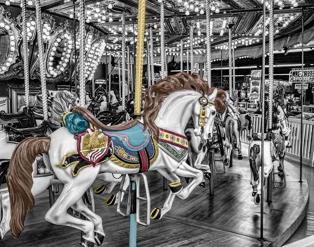Carousel, Merry-go-round, Roundabout, Whirligig