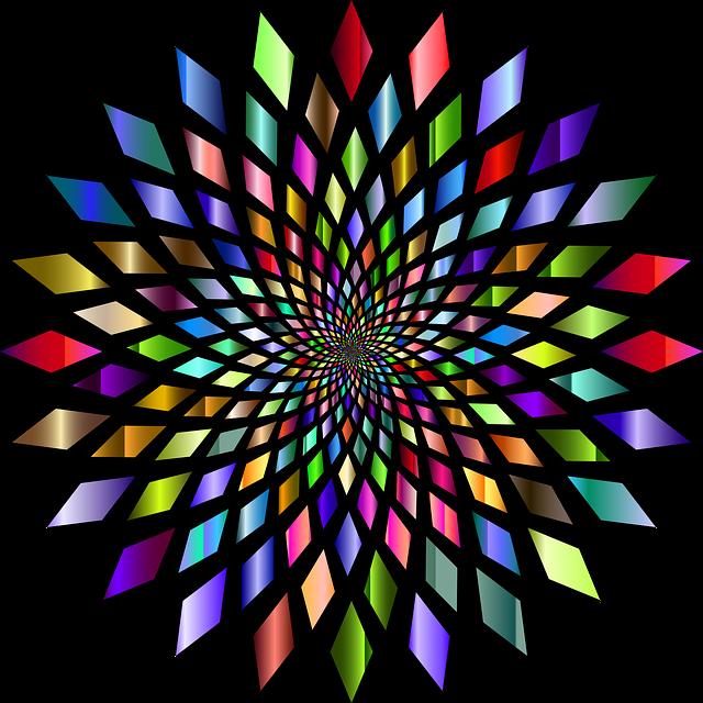 Abstract, Geometric, Art, Vortex, Maelstrom, Whirlpool