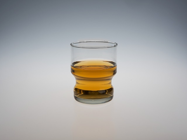 Liquor, Glass, Isolated, Whiskey, Rum, Drink, Alcoholic