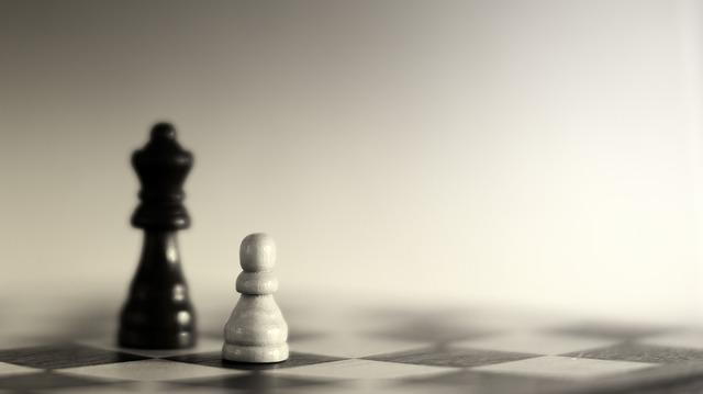 Chess, Black, White, Play, Strategy, Think, King, Bauer