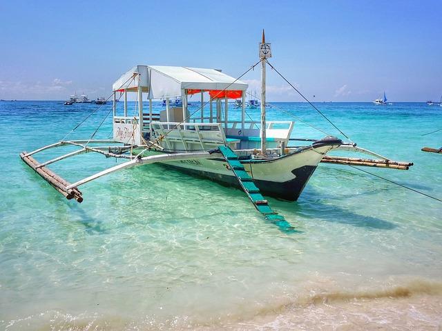 Philippines, Boracay, White Beach, Beach, Sea, Sulu Sea
