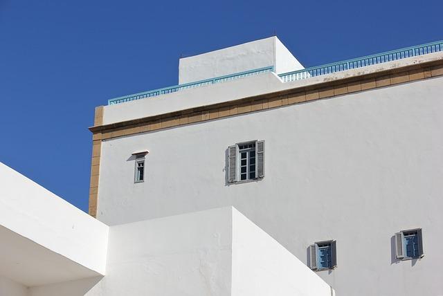 Building, Architecture, White, Walls, Construction