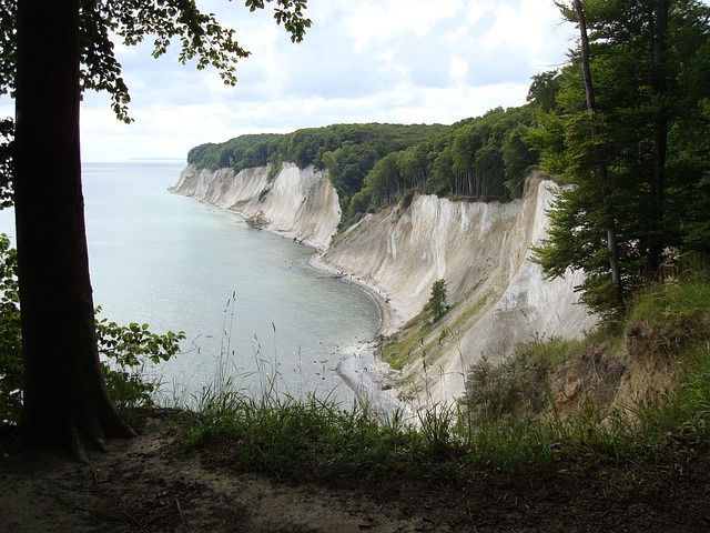 White Cliffs, Sea, Booked, Rügen, View, Romance