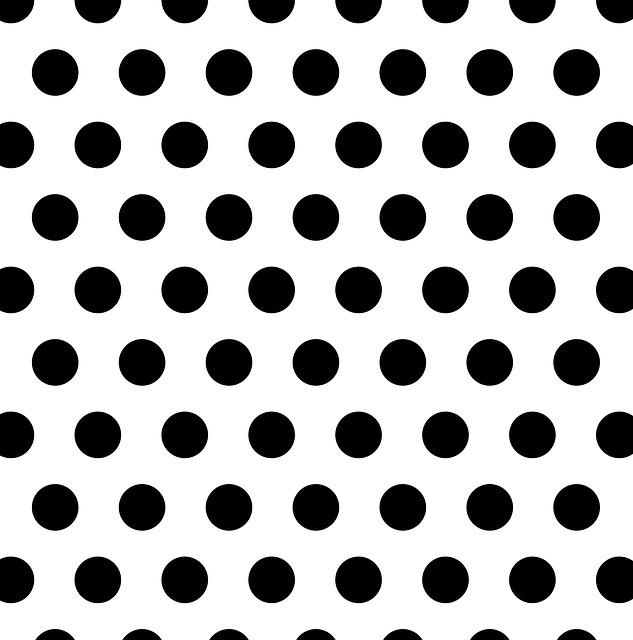Polka Dots, Black, White, Spots, Dots, Pattern, Design