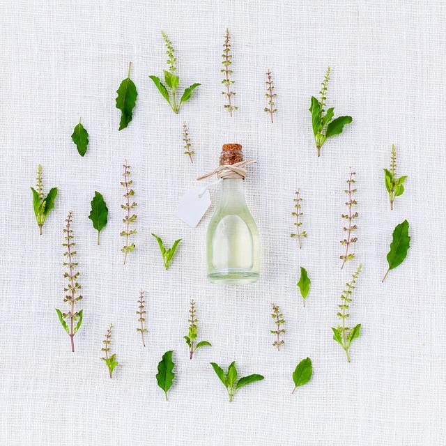 Aroma, Basil, Spices, Green, White, Essential, Herbal