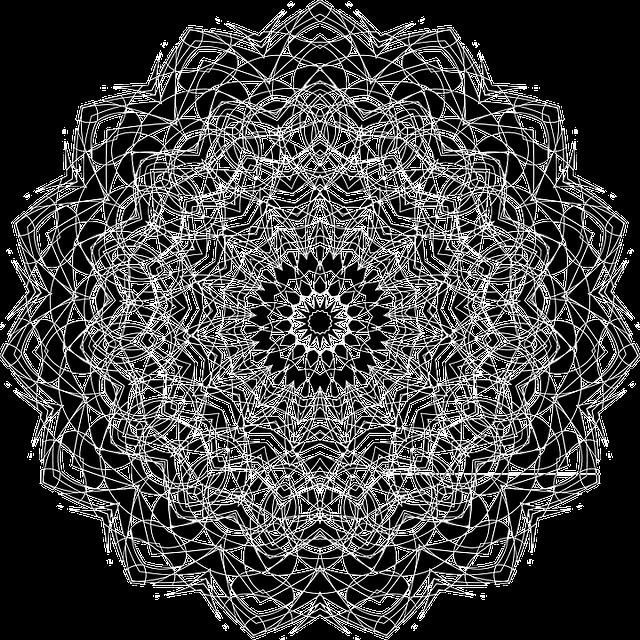 Inverse, Abstract, Black, White, Geometric, Art