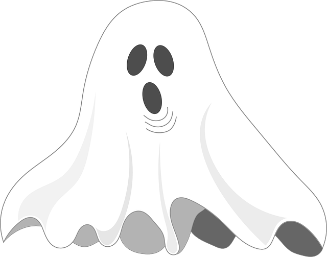 Ghost, Spooky, Cheeky, Ghostly, White