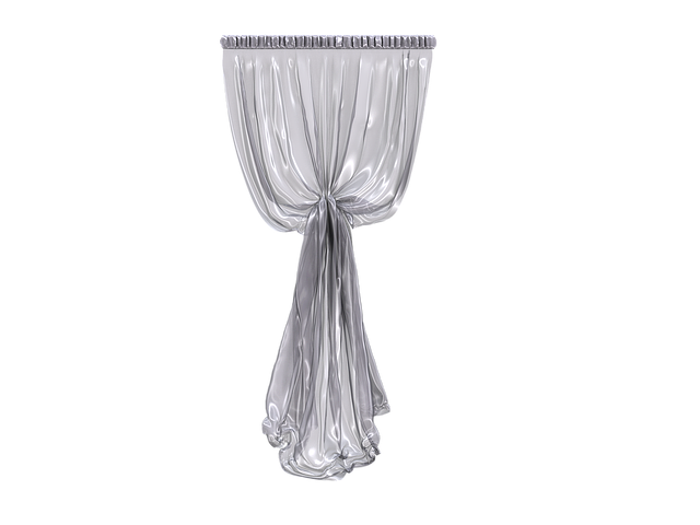 Curtain, Fabric, Transparent, Translucent, Hell, White