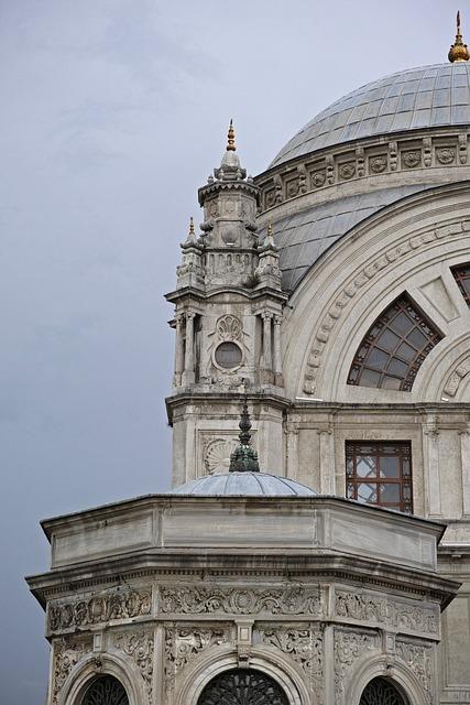 Cami, Detail, Islam, Minaret, Istanbul, White