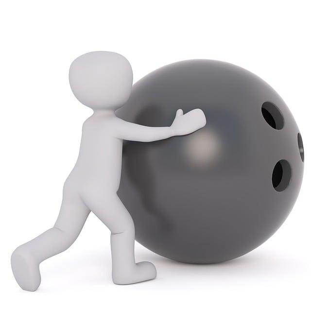 Bowling Ball, Bowling Ball Holes, White Male, 3d Model
