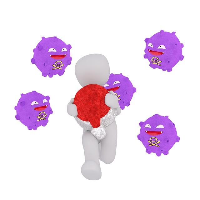 Bacteria, White Male, 3d Model, Isolated, 3d, Model