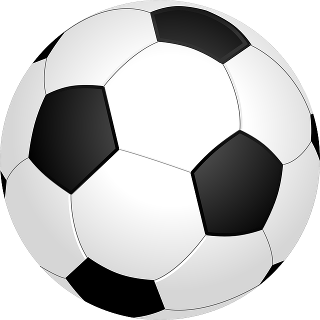 Football, Ball, Sport, Soccer, Round, Black, White