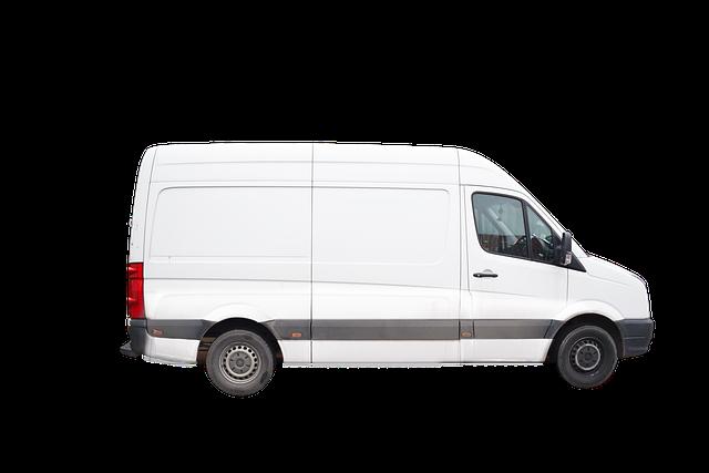 Van, Delivery Van, Vehicle, White Van, Transport