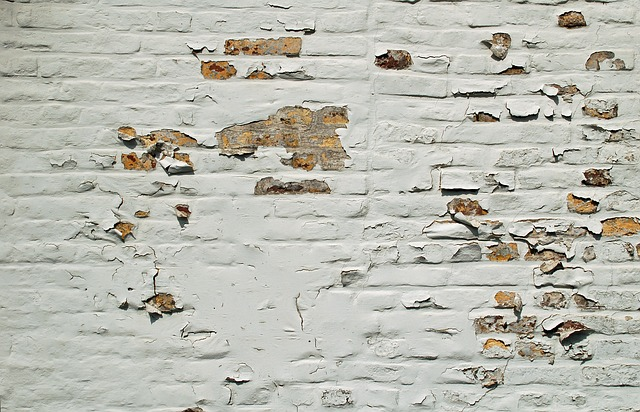 Wall, White, Paint, Peeled Off, Flake, Texture