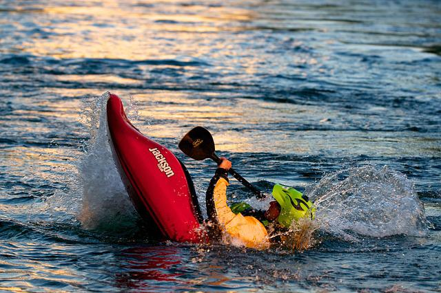 Kayak, White Water, Water Sports, Courage, Skill