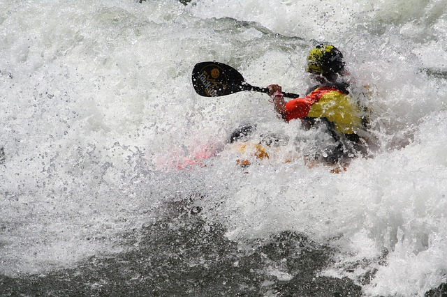 White Water, Kayaking, River, Sport, Extreme, Adventure