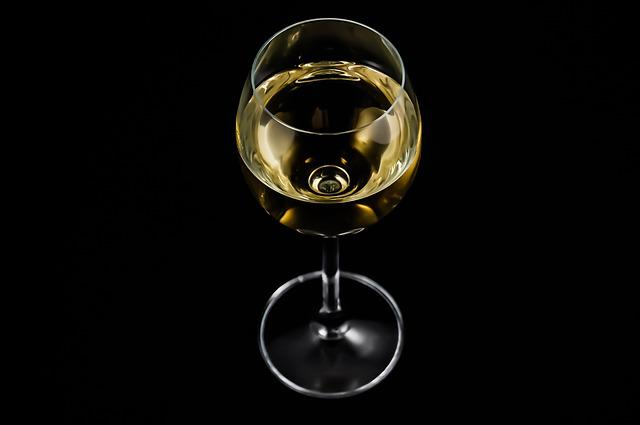 A Glass Of, Wine, Alcohol, White Wine, A Glass Of Wine