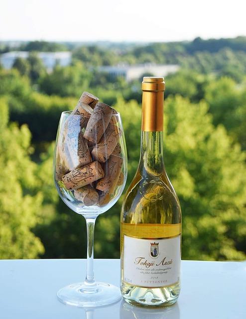 Wine, White Wine, Vineyard, Glass, Cork, Plugin