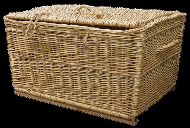 Laundry Basket, Wicker Basket, Basket Ware, Wicker