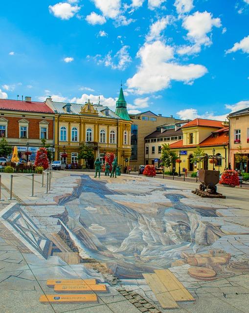 Krakow, Poland, Europe, Tourism, Wieliczka, Street