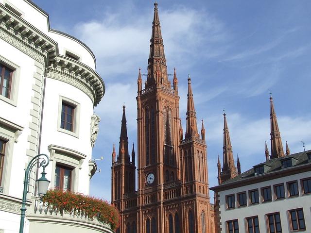 Dom, Wiesbaden, Towers