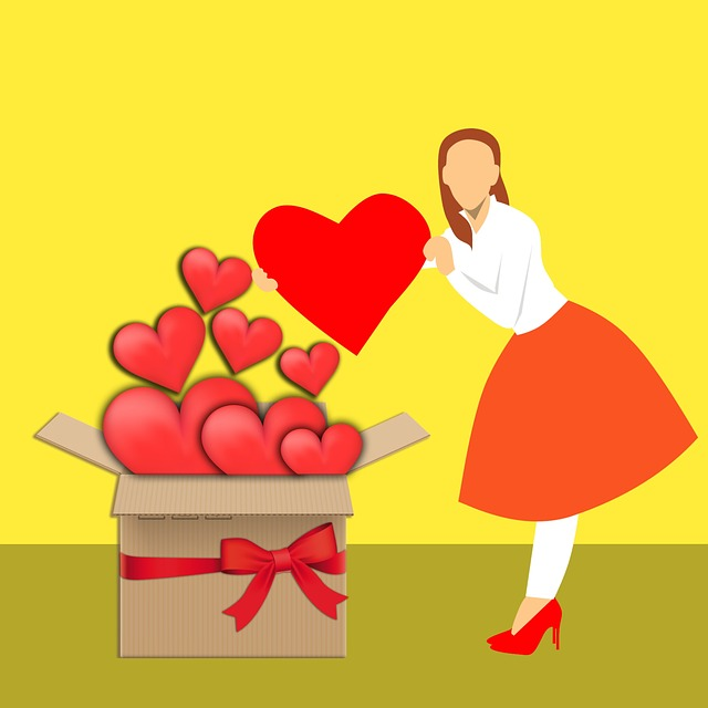 Valentine's, Surprised, Gifts, Standing, Wife, Love