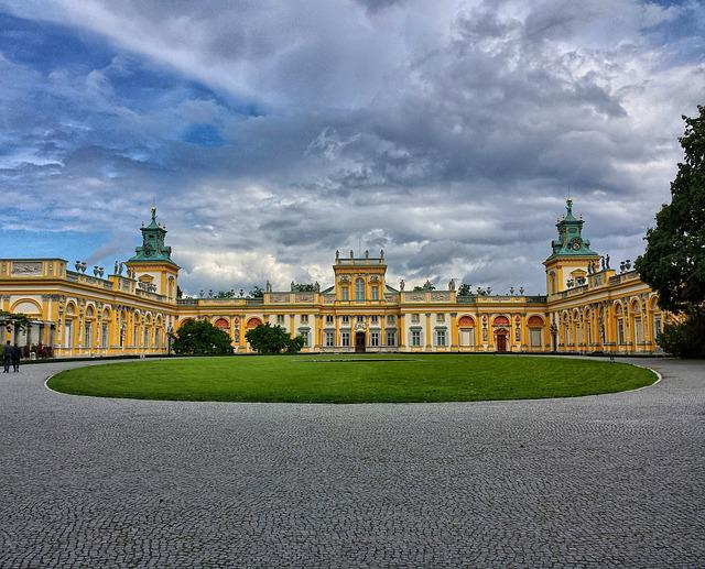 Wilanów, The Palace, Warsaw, The Palace And Park