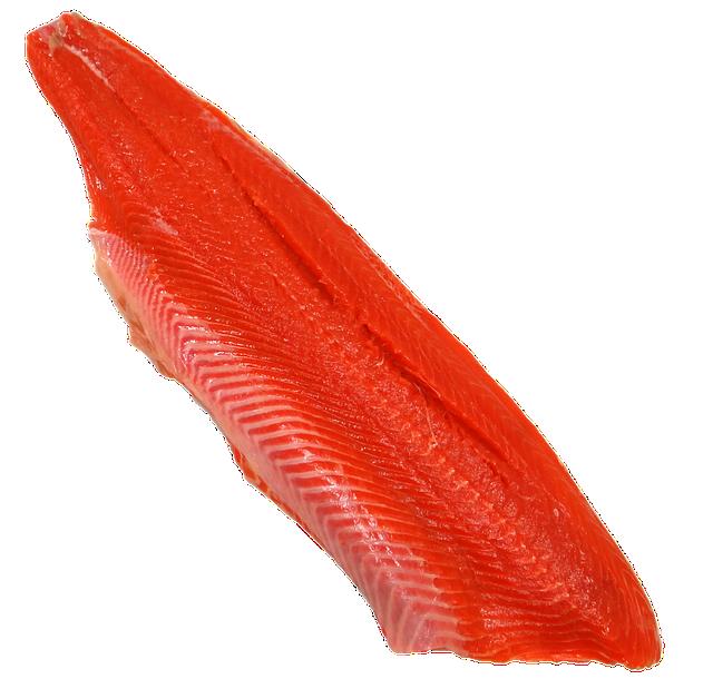 Wild, Sockeye, Salmon, Fillet, Alaska, Seafood, Fish