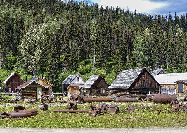 Barkerville, Gold Mine, Town, Wild West, Wooden