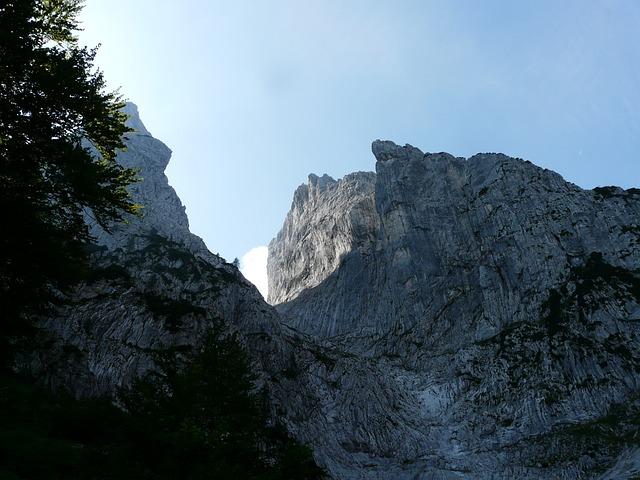 Wilderkaiser, Ellmauer Gate, Mountains, Predigtstuhl