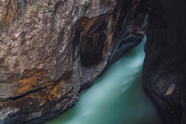 Gorge, Water, Creek, River, Rock, Nature, Wilderness