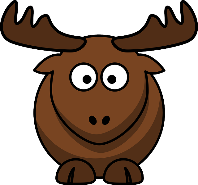 Elk, Animal, Brown, Mammals, Horns, Wildlife, Standing