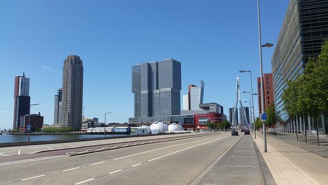 Wilhelmina Pier, Wilhelminakade, Rotterdam South