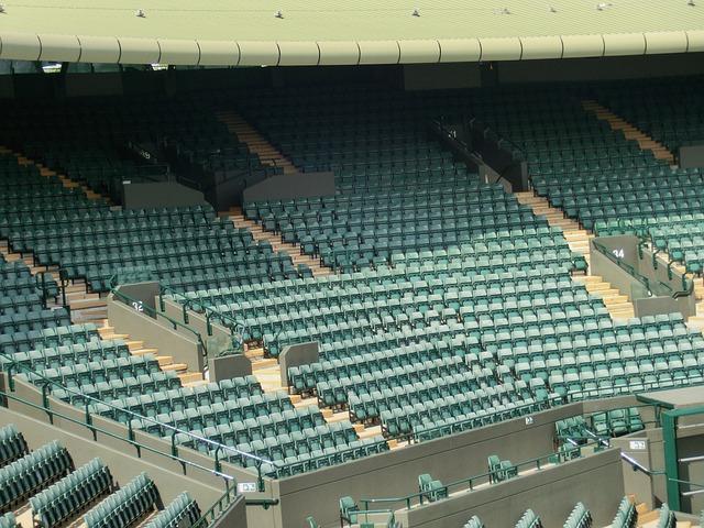 Wimbeldon, London, Stadium, Audience, Rank, Seats