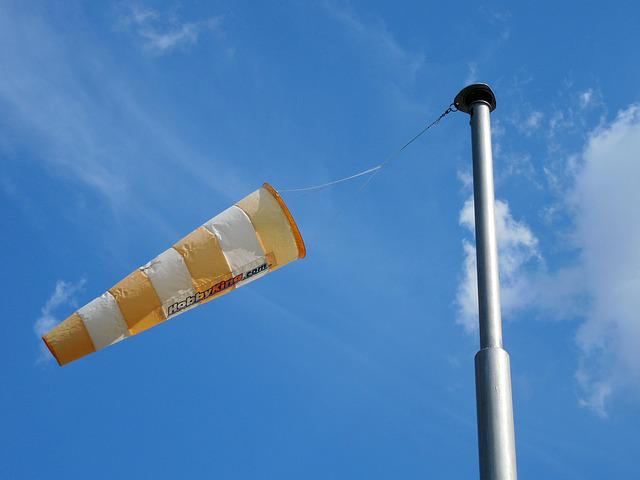 Wind Sock, Wind, Wind Direction, Anemometer, Wind Power