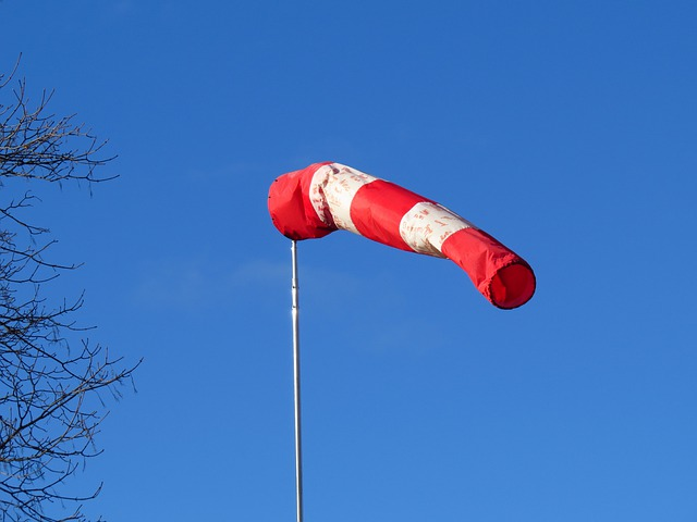 Wind Direction Indicator, Air Bag, Since Wind