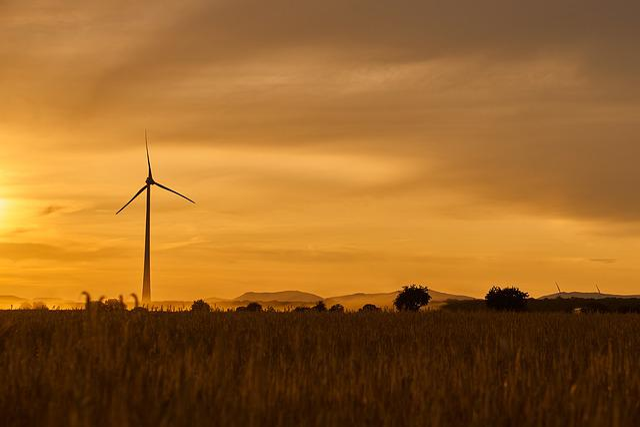 Wind Power, Energy, Blue, Environmental Technology