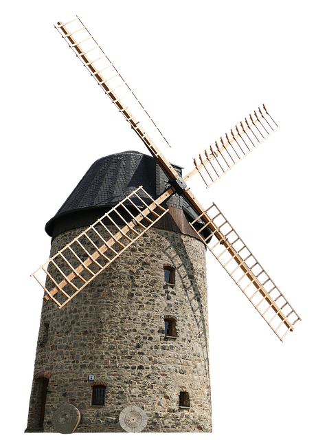 Windmill, Mill, Wing, Wind, Wind Power, Old