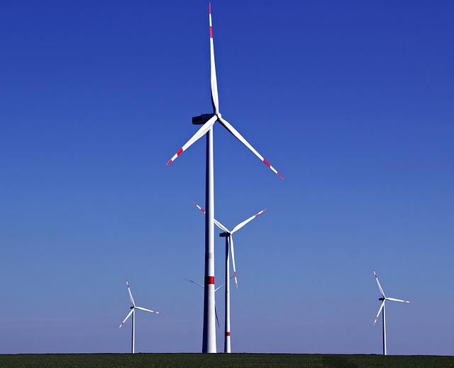 Wind Power, Wind Energy, Windräder, Sky, Energy