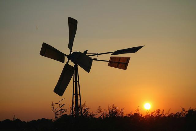 Windmill, Water Pump, Wind Powered Water Pump, Mill