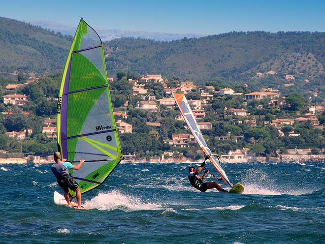Windsurf, Wind Surfers, Aquatics, South Of France