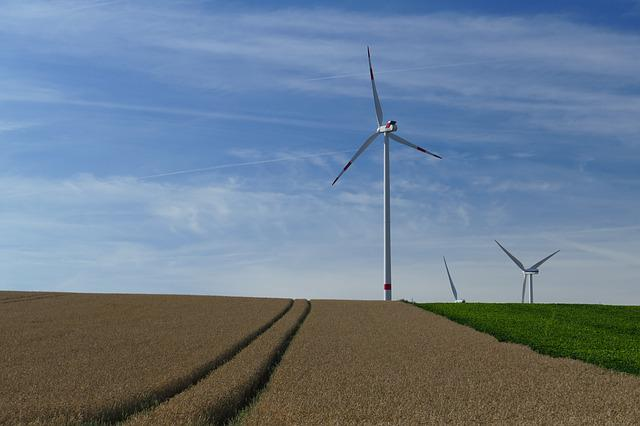 Nature, Vision, Wind Turbines, Rotors, Field, Arable
